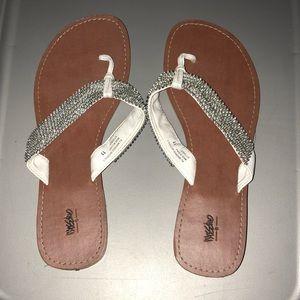 Mossimo Rhinestone Thong Sandals